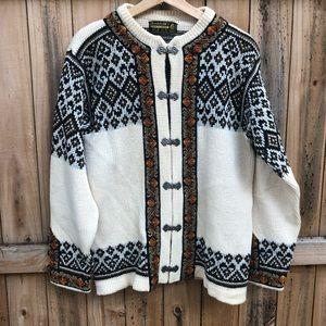 Nordstrikk Vintage Norwegian Wool Sweater